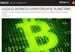 «Llega el Business Chain Forum al Planetario»